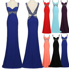 Newest IN 6Colors Women's Dresses Wedding Evening Gown Bridesmaid Bridal Gown