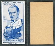 Carreras (Turf) - Famous Film Stars 1949 #1 to #50 Movie Cigarette Cards