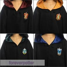 Harry Potter Kids Hufflepuff/Gryffindor/Slytherin/Ravenclaw Cloak Robe Costumes