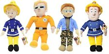 "NEW OFFICIAL 17"" FIREMAN SAM AND FRIENDS PLUSH SOFT TOYS"