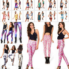 New /(*_~)\ S-M,L-XL Leisuire GYM Yoga Muscle Galaxy Pants Leggings Dresses HOT