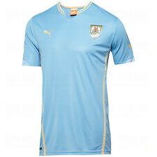 Puma Uruguay World Cup WC 2014 Home Soccer Jersey New Sky Blue