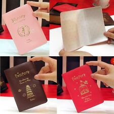 New Handy Travel ID Card Passport Holder Case Cover Cash Wallet Purse Organizer