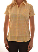 REGATTA LADIES JAMILA SHORT SLEEVE CASUAL CHECK SHIRT WS167  D9