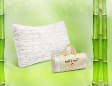 Memory Foam Bamboo Gel Pillow by Clara Clark - Available in King or Queen