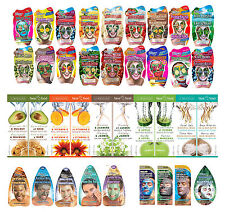 NEW Montagne Jeunesse ALL STYLES Of Face Masks/Masques For All Types Of Skin