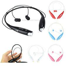 Bluetooth Wireless Sport Stereo HandFree Headset Earphone For Samsung iPhone LG