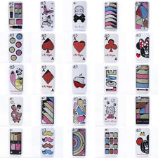 Bling Crystal Rhinestone Diamond Quicksand Hard Case Cover For iPhone 4 4S White