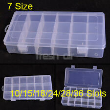 7 SIZES Box Storage Organizer For Rainbow Loom Clips Charms Pendant Hook Beads