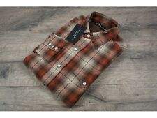 Ralph Lauren Black Label £255 Red & Brown Plaid Shirt