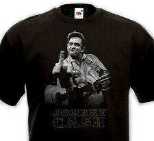 T-SHIRT JOHNNY CASH  -Country Rock'n'Roll Rockabilly Blues Western Folk SUN 50's