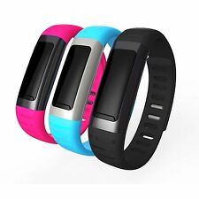 Shockproof Waterproof Bluetooth Sports Smart Wristlet with Pedometer for Phone
