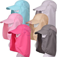 Summer Womens Mens Sun Protection Windproof Fishing Cap Neck Face Mask Flap Hat