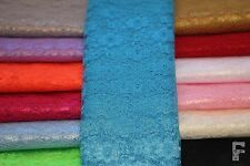 LACE FABRIC - 100% POLYESTER - WIDTH 112 CMS