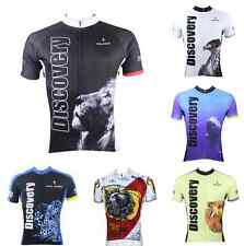 Men's Amazing Animals Printting Pattern Polyester Race Fit Slimming Top Jersey