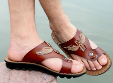 Men's Sandals & Slippers Flip Flops strap Comfortable eagle Shoes Size 7~12
