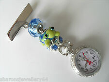 Nurses Charm Fob Watch Also For Beauticians, Healthcare Workers & Vets 11.99