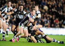 HULL FC v BRADFORD BULLS 03 (RUGBY LEAGUE 2014) PHOTO PRINT