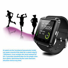 U8 BT Bluetooth Smart WristWatch Watch Phone Mate For Android Mobile Samsung HTC