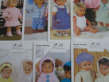 Double Knitting/4 ply Pattern for Dolls/Premature Babies (31-56cms - 12-22ins)