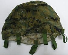 USMC REVERSIBLE HELMET COVER MARPAT WOODLAND / DESERT SMALL MEDIUM LARGE REPAIRS