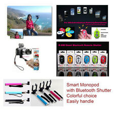 Selfie Extendable Monopod + Bluetooth Remote For iPhone Galaxy S3 S4 S5 Note 2/3