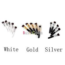 Hot Silver/Gold/White Woman Synthetic Large Makeup Foundation Brush 01/02/03 BY