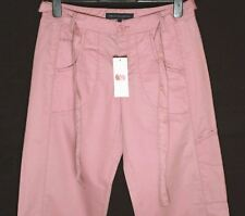Bnwt Women's French Connection Trousers + Belt Pink New Fcuk RRP£65