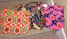 VERA BRADLEY PLEATED TOTE RETIRED LOVES ME, VERSAILLES, FOLKLORIC NEW WITH TAGS