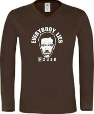 Shirtstown Long-Shirt Dr. House Everybody Lies IG1669