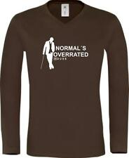Shirtstown Long-Shirt Dr. House Normal´s Overrated IG2074