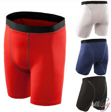 Mens Boys Body Armour Compression Base Layer Thermal Under Shorts Sport Skins