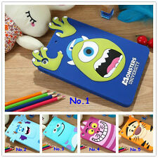 Newest 3D Monsters Tigger Soft Silicone cover for iPad mini/Air Protective case