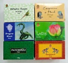 Kamini Herbal Soap 100 gm: Assorted Fragrances: You Choose Scent and Amount!