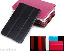Tri-Fold Magnetic Leather Folio Thin SLIM SMART COVER CASE Apple iPad Mini 1 2 3