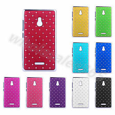 Rhinestone Bling Design Star Colorful PC Back Fashion Case Cover For Nokia Phone