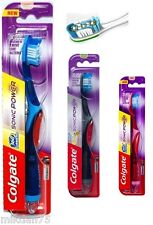 Colgate 360 Surround Advanced Sonic Power Electric Battery Toothbrush Medium