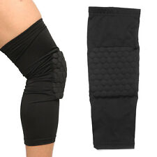 Honeycomb Pad Protector Gear Leg Knee For Basketball Football Long Sleeve