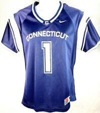 Connecticut Huskies Football Jersey Ladies Navy 1