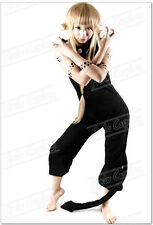 New Anime Soul Eater Medusa Black Halloween Party Cosplay Costume Any Size
