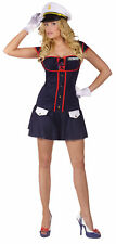 Major Tease Sailor Adult Womens Costume Navy Dress Outfit Theme Party Halloween