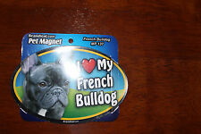 I Love My Dog Oval Magnet  *You Choose Your Breed*  F-L