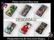 COMIC PHONE CASES IPHONE 4 4S & 5 SAMSUNG GALAXY S3 & S4 S5 MARVEL DC SUPERMAN