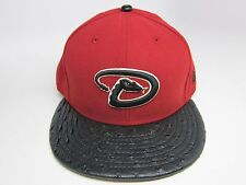 New Era MLB ARIZONA DIAMONDBACKS REPTILE STRAPBACK CAP  [BRICK RED-BLACK]