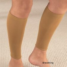 Pair Calf Shin Leg Sleeve Support Compression Brace by BraceKing