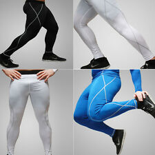 Men's Thermal Compression Under Tight Long Leggings Base Layer Pants SIZE M-XXL