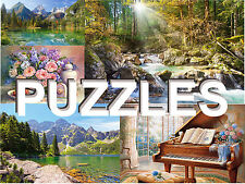 CASTORLAND PUZZLE JIGSAW HIGH QUALITY KIDS / ADULTS VARIETY OF SIZES, LOCATIONS