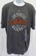 San Francisco Giants Adult Circle Giants Short Sleeve T-Shirt Dark Heather Gray