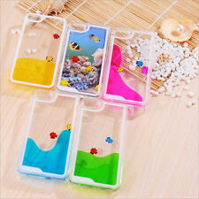 Fashion New Movable Freely Swimming Fishes 3D Case Cover for IPhone 4 4S 5 5S