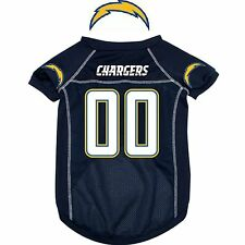 NFL Pet Fan Gear SAN DIEGO CHARGERS  Jersey Shirt Tank Tee for Dog Dogs Puppy